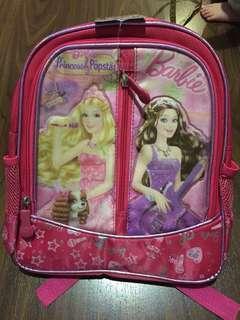 Tas Sekolah Anak Barbie