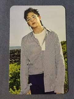 B.A.P Him Chan Blue Honeymoon Single Album Official Photocard