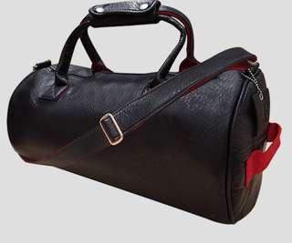 Fitness first leather bag