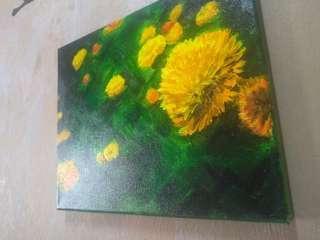 Acrylic Painting on Canvas Original Medium Size