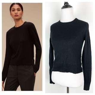 Aritzia Babaton Black Sweater