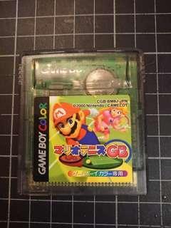 原裝日版GBC 瑪里奧網球  Mario Tennis