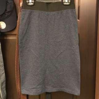 🚚 ✨全新 NET 休閒及膝藍窄裙
