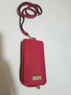 KATE SPADE Lanyard Red color