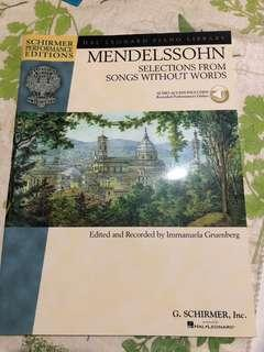 Piano Mendelssohn