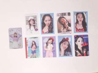 nayeon photocards