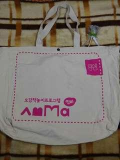 Totebag with button 43