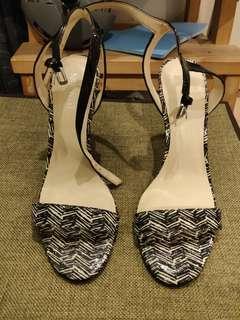 女神鞋 100% new heel sandals nine west