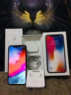 iPhone X 64 GB hitam ZP/A asli Apple Singapore