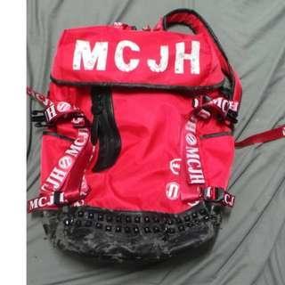 日本MCJH 紅色大容量後背包