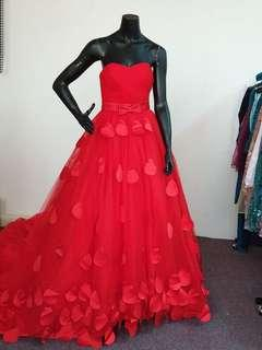Grand photography or bridal dress