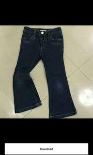 Jeans anak bluezoo size 4 years