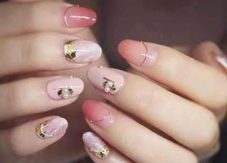 Express Mani or Pedi Gel unlimited package  for 12 months