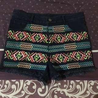 Tribal Short Pants