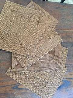 Wooden Table Mats (Set of 6)