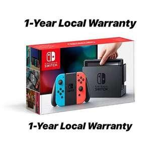 Nintendo Switch Console SG Brand New