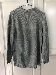 灰色冷衫(可當短身OP)