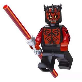 Rare LEGO Star Wars Darth Maul