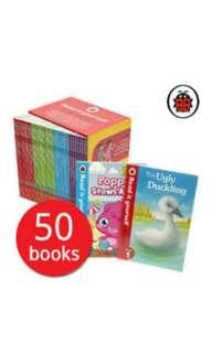 🚚 Read it Yourself with Ladybird Collection 50 Books Box Set Pack (Level 1, 2, 3, 4)including moshi monster, peppa pig, charlie and lola, Wizards of Oz, Topsy and Tim, Cinderella, Harry and the dinosaurs united, Heidi, Snow white and the seven dwarfs