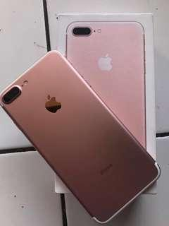 Iphone 7+ 128GB Rose Gold