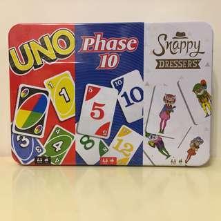 UNO Collector Tin Card Game