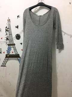 Grey Long dress (NEW)