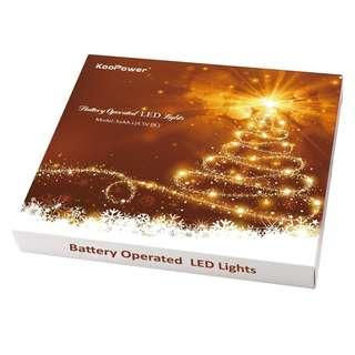 Koopower 40 LED Fairy String Lights, Battery Operated