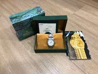 Rolex White Oyster Perpetual Date Ref No.15200 (Full Set)