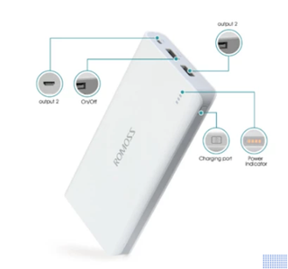 Romoss Portable Charger 20,000 Mah