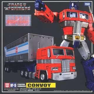 [PO] Takara Tomy Masterpiece MP-10 Optimus Prime Convoy