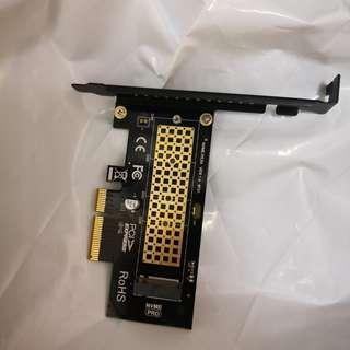 NVME轉接卡M.2轉PCIE3.0
