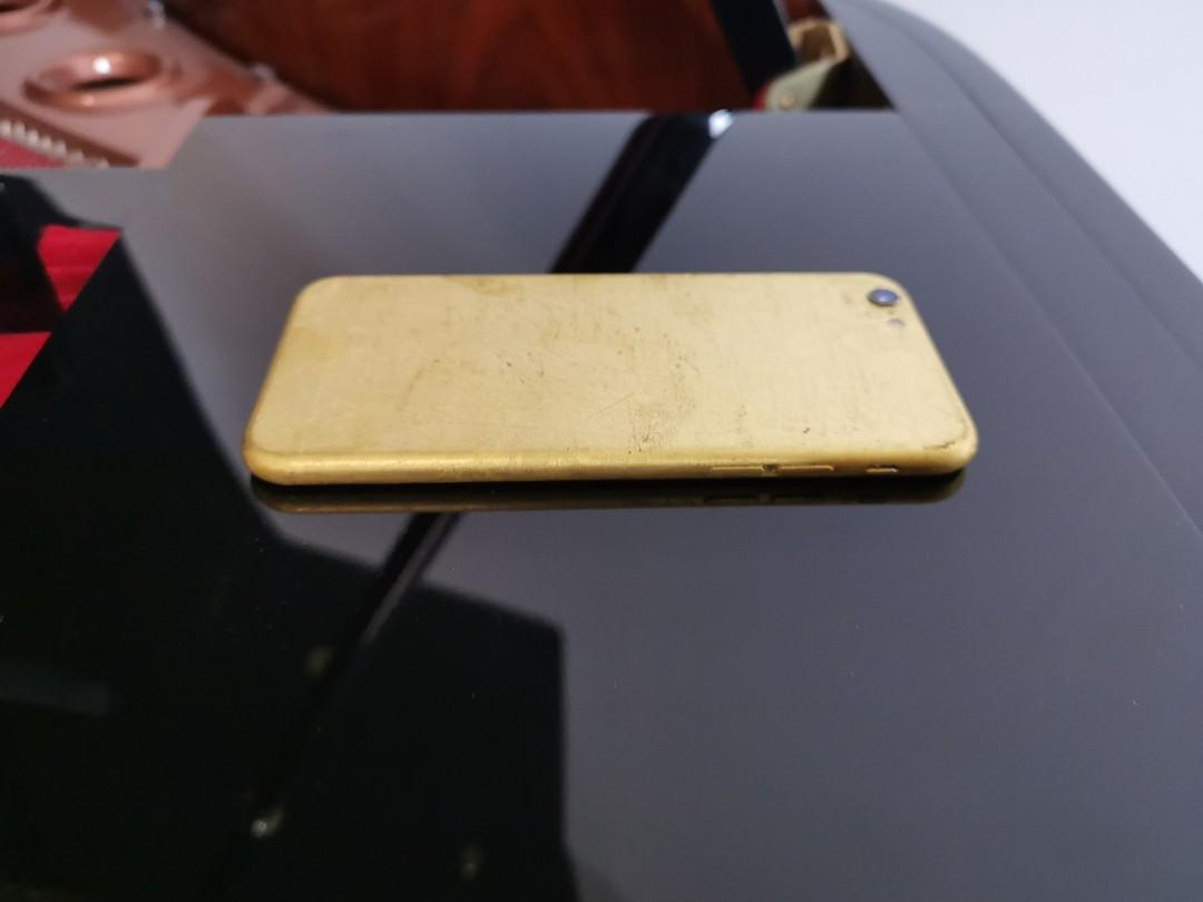 24k Gold Refurbished iPhone 6