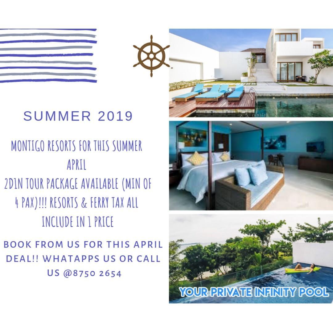 2D1N Summer April Montigo Resort