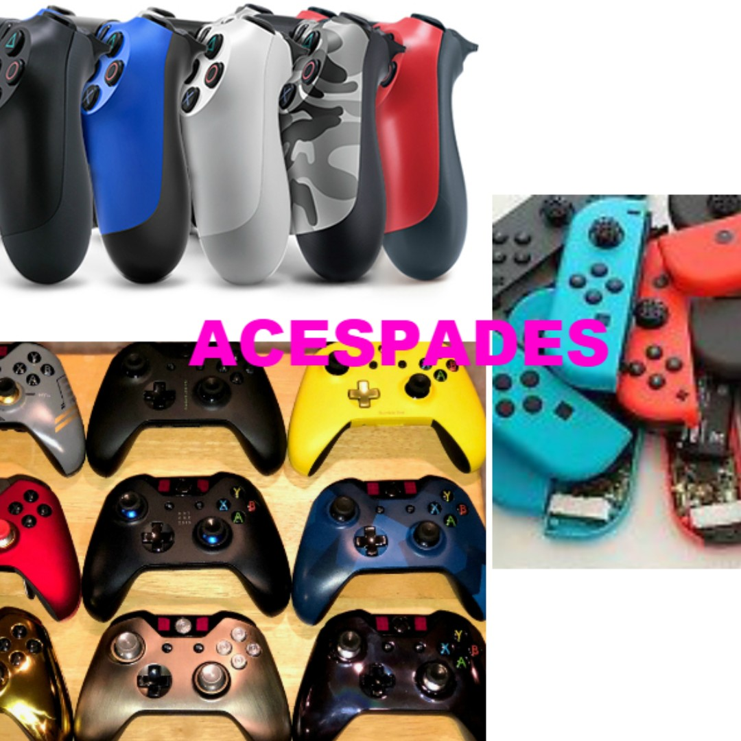 BUY BACK: Faulty PS4, Xbox One & Nintendo Switch JoyCon Wireless Controllers