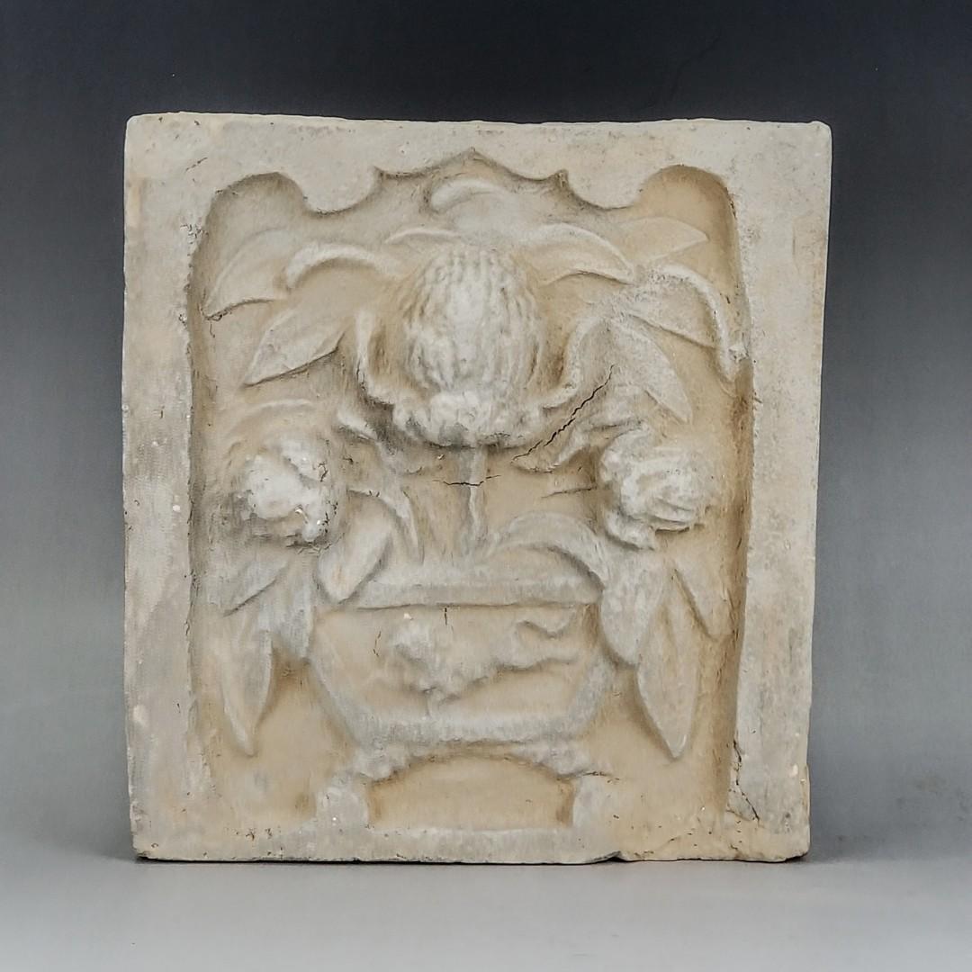 宋元花卉圖案磚雕