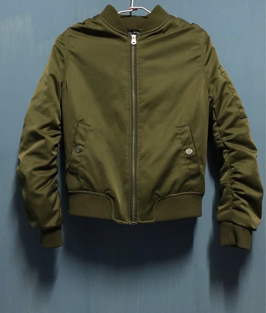 軍綠飛行夾克 (加棉款外套)❄️#