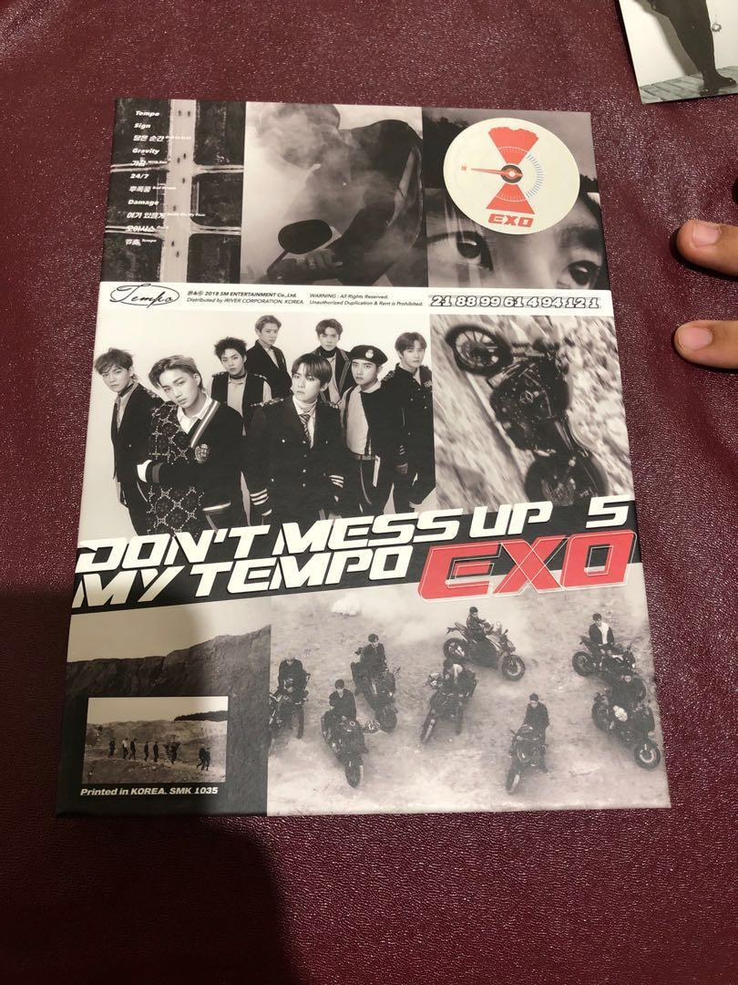Album unsealed exo dont mess up my tempo versi allegro