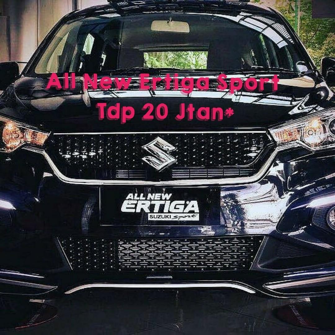 All new Ertiga Sport 2019,Promo Launch Tdp 20 jt!!!