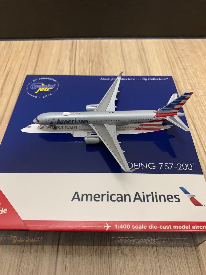 GEMINI JETS AMERICAN AIRLINES BOEING 757-200 W 1:400 GJAAL1797 IN STOCK