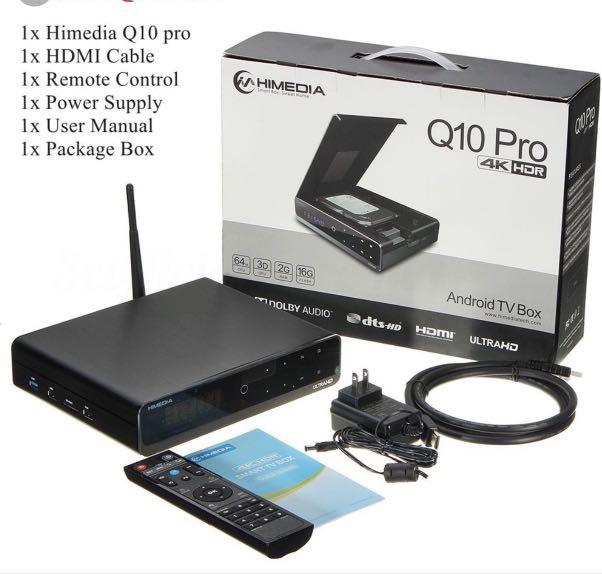 Android 5 1 Smart TV Box - Hi Media Q10 Pro