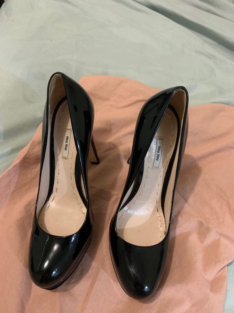 Authentic Miu Miu Shoes 36.5