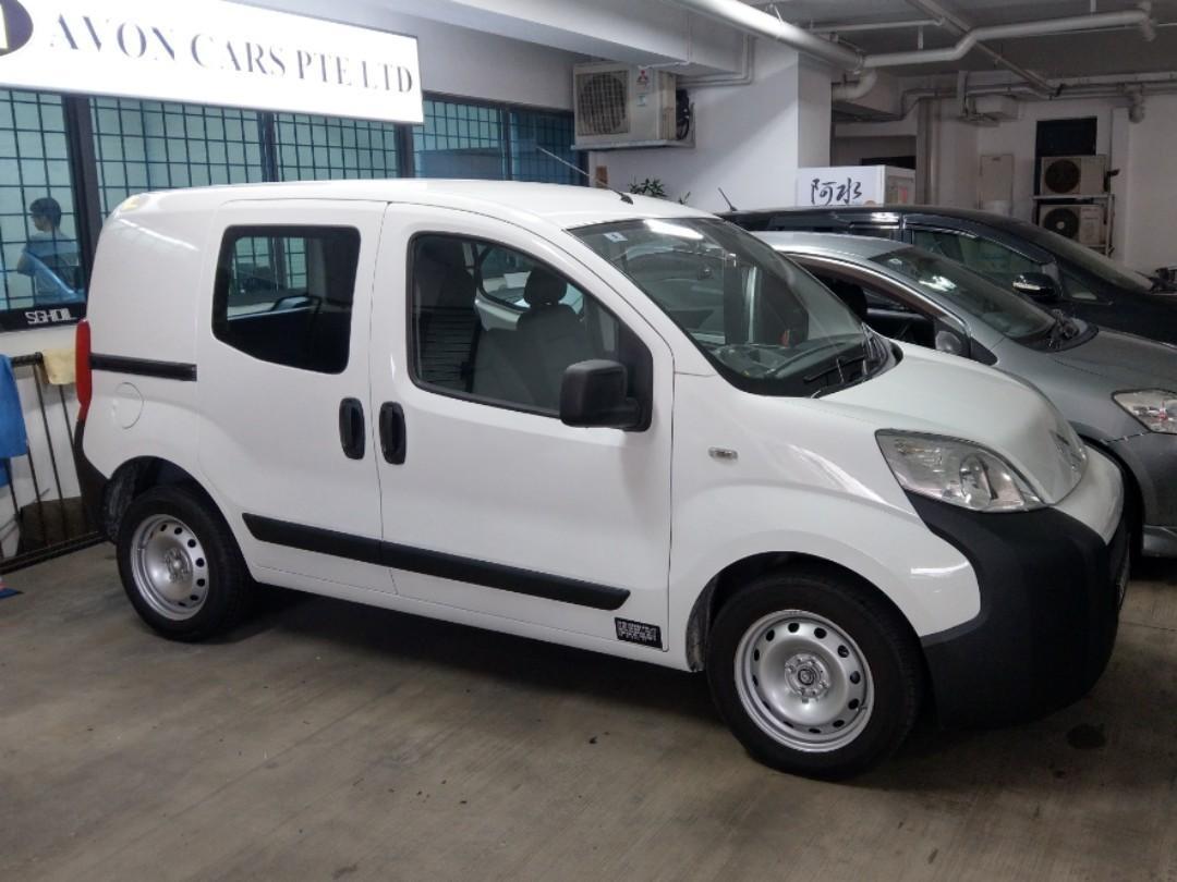 Auto van for lease