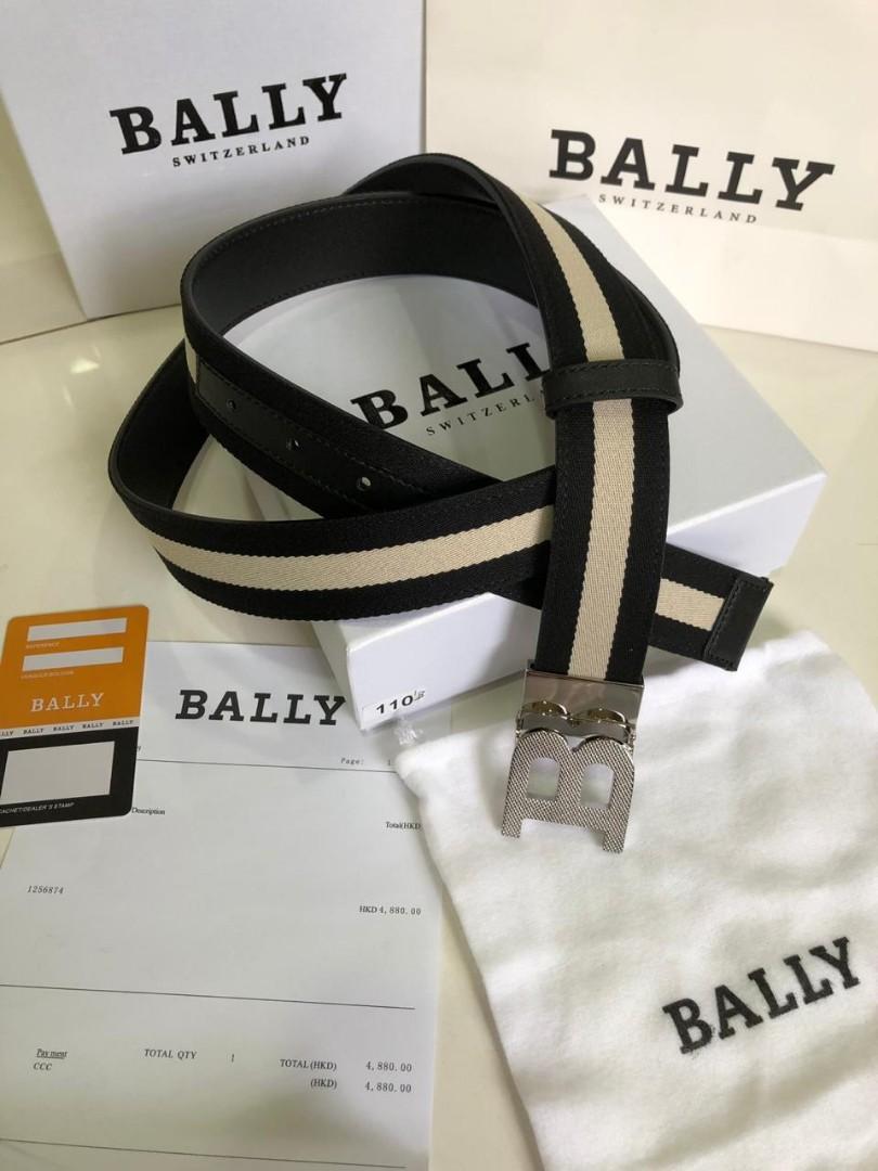 Bally Belt 128, SUPERMIRROR, FreeSize, Panjang bisa d potong  H  @700rb  berat 500g