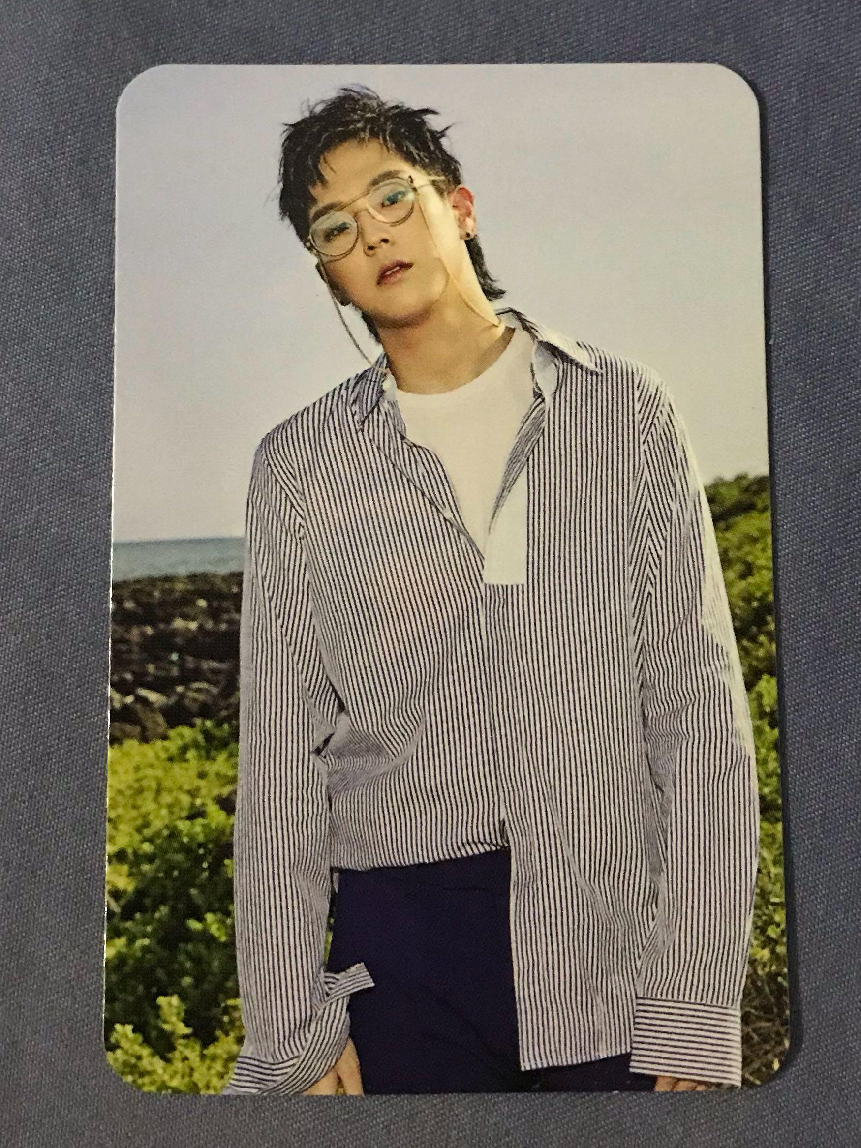B.A.P Him Chan Blue Honeymoon Single Album Official Photocard