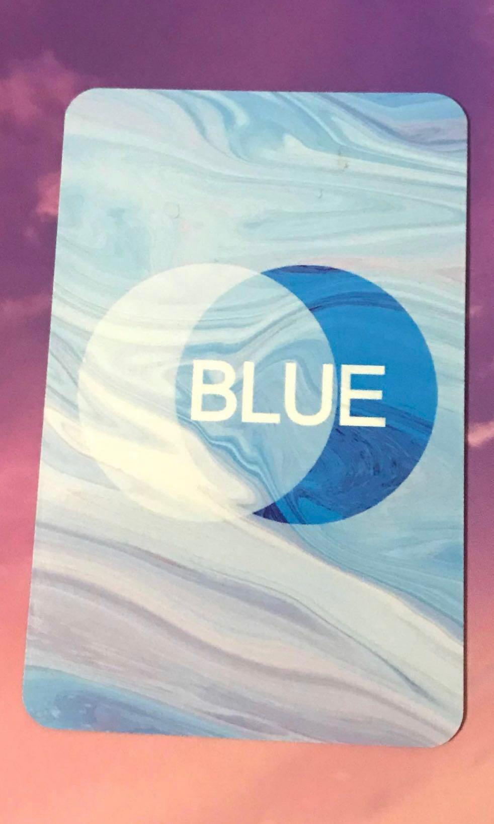 B.A.P Young Jae Blue Honeymoon Single Album Official Photocard