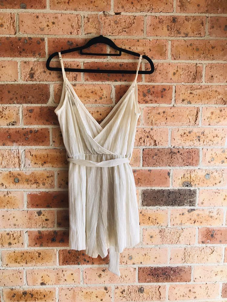 Bardot Jumpsuit *perfect for festivals, concerts, special occasions!*