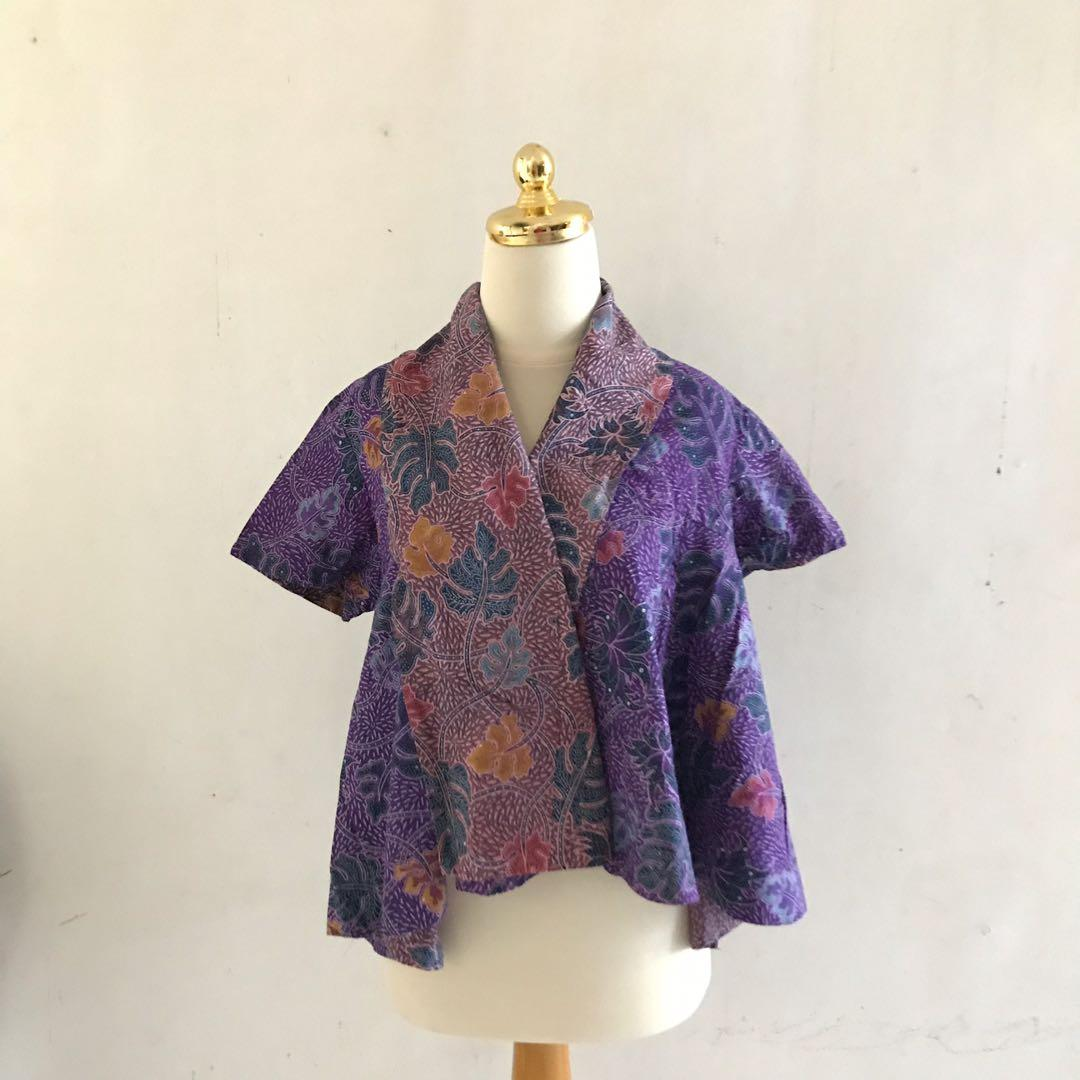 Batik Purple Outerwear