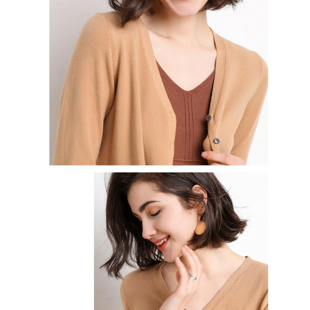 Brand New Woman's  Knit cardigan jacket, S/M/L/XL/XXL, HK$79.99