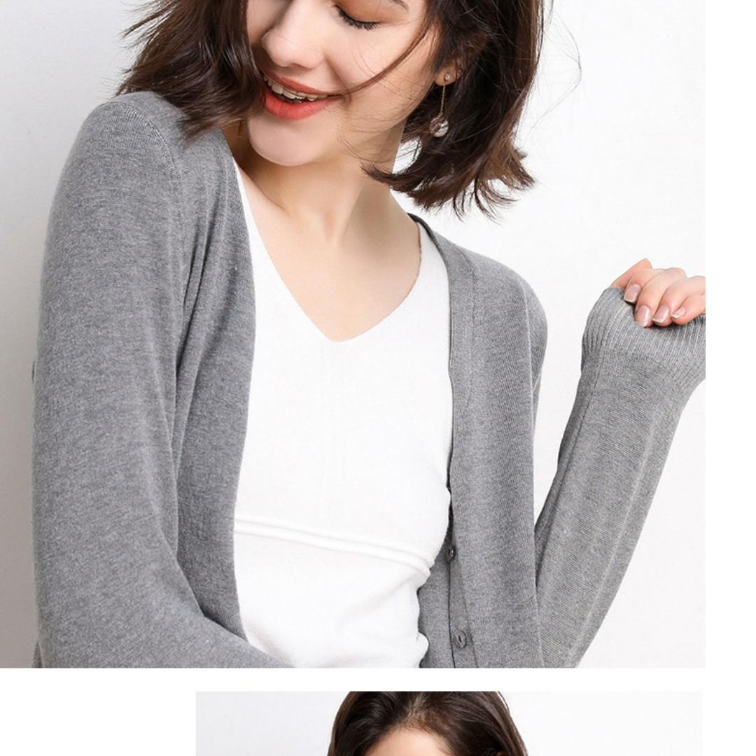 Brand New Woman's  Knit cardigan jacket, Free Size Elastic, HK$79.99