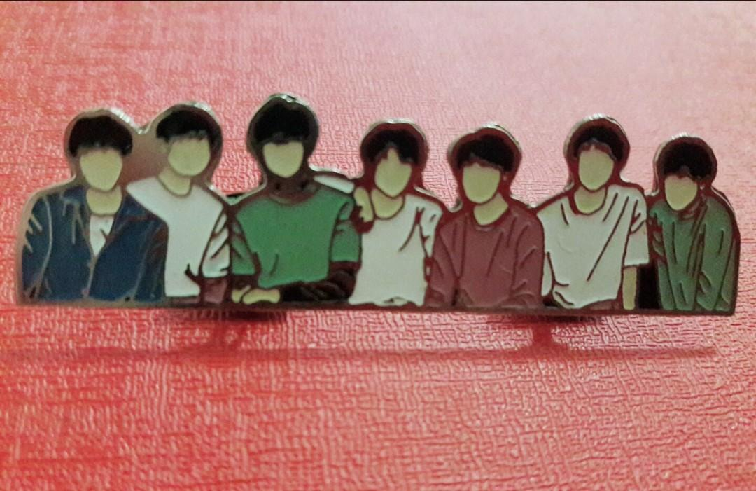 BTS LY ENAMEL PIN